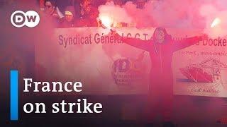 France strikes: Thousands protest Macron's pension reform   DW News