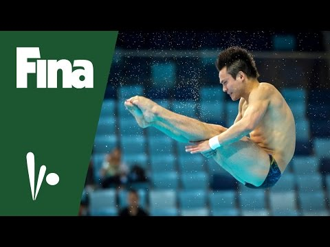 FINA Diving World Series, Kazan (RUS)- Qui Bo (CHN) interview