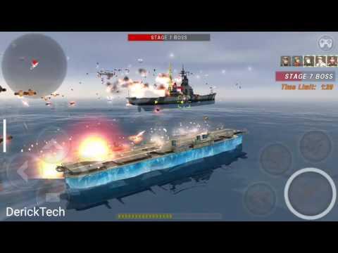 Warship Battle: HABAKKUK BLIZZARD & HABAKKUK FREEZE vs Boss Attack Stage 1 to 10 [HD]