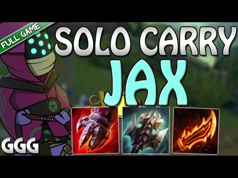 BAD TEAM?? CARRY AS JAX!!! SILVER TO DIAMOND JAX v RIVEN - League of Legends S8 Top [FULL GAMEPLAY]