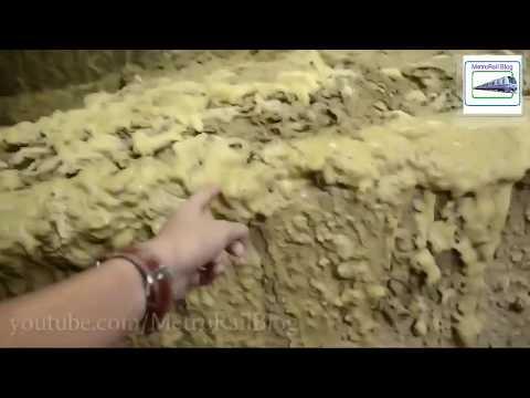#UNDERWATER Footage of Tunnel Boring Machine in ACTION --- MetroRail Blog