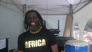 Tiken Jah Fakoly - kuma (The Hague African Festival 18-7-2009)