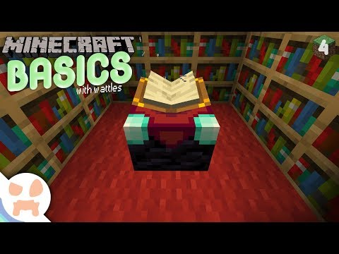 ENCHANTING! | Minecraft Basics 4