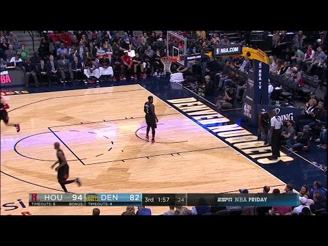 Quarter 3 One Box Video :Nuggets Vs. Rockets, 12/2/2016 12:00:00 AM