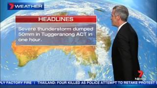 Sydney on storm alert