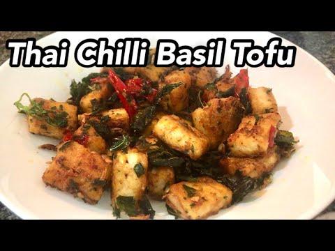 Thai Chilli Basil Tofu | How to Make Pad Krapow Tofu | Tofu Stirfry | Quick & Easy Vegan Recipe