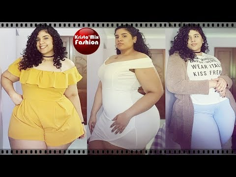 Mss.M - Plus Size big curvy thick chubby Stylish trending outfits fashion designs ideas#46