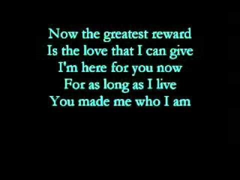 The greatest reward-Celine Dion with lyrics-Vidsur~.mpg