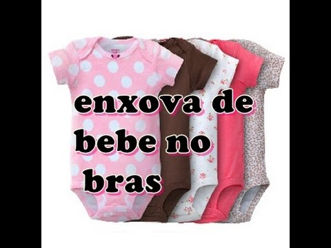 8aa7d80e6 comprinhas do enxoval do bebe no bras - YouTube
