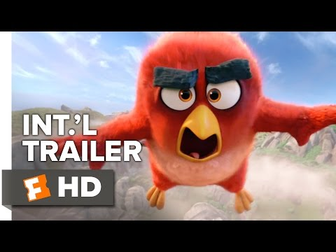 The Angry Birds Movie Official International Trailer #1 (2015) - Peter Dinklage, Bill Hader Movie HD