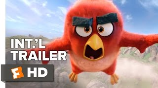 The Angry Birds Movie Official International Trailer #1 (2016) - Peter Dinklage, Bill Hader Movie HD