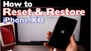 How to Reset & Restore Apple iPhone XR - Factory Reset (Forgot Passcode) (iPhone is Disabled Fix)