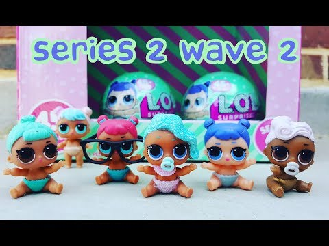 LOL Surprise Lil Sister Unboxing #3! Last 2 from our Toy Hunt! Series 2 Wave 2 #unboxLOL