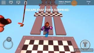 Obby in roblox it teleports you to another game? Really?