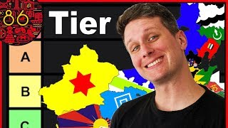 Chinese Provinces Tier List RANKED! Video