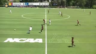 2020/21 NCAA Women's Soccer Championship Second Round. Arizona State vs Duke