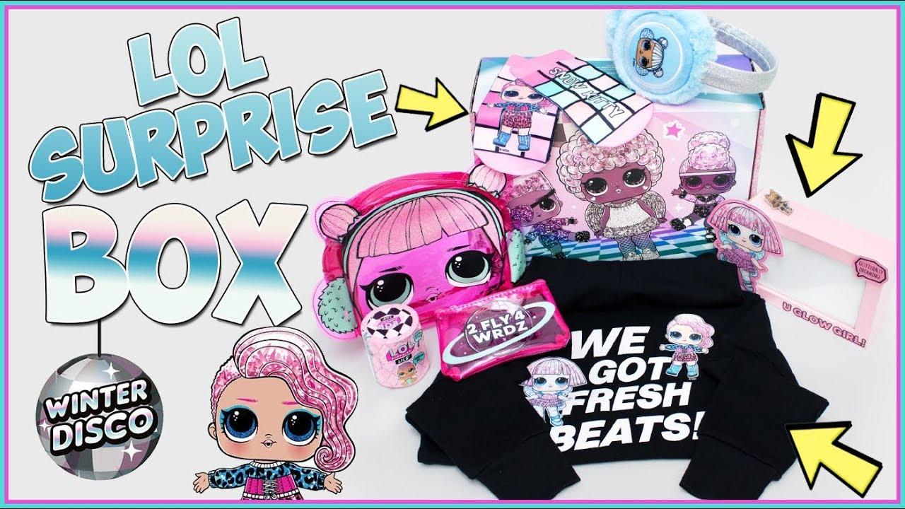 LOL Surprise BOX!!! Winter Disco!!! Caja sorpresa de LOL suprise con cosas súper chulas!!!