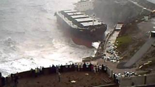 fedra bulk carrier crashed in Gibraltar