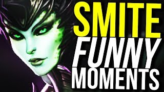 WATCH ME SUFFER FOR 10 MINUTES! (Smite Funny Moments)
