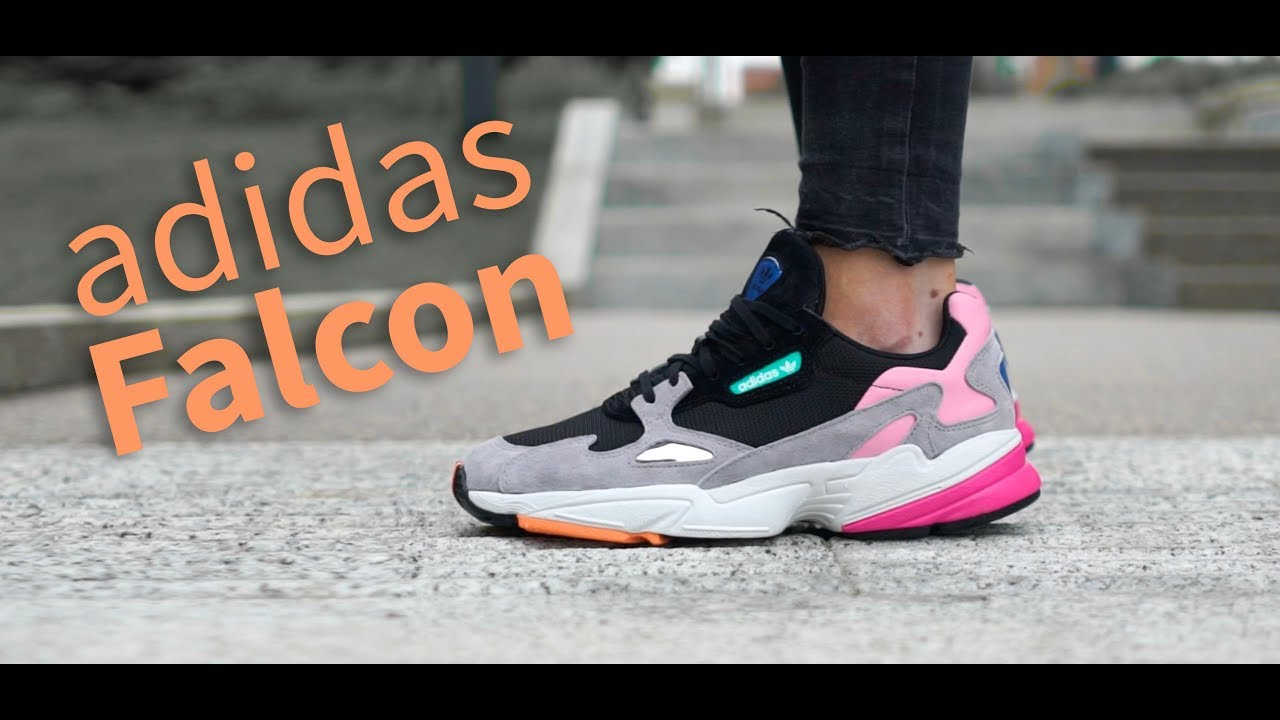 ADIDAS ORIGINALS FALCON W Women Sneaker Damen Schuhe Running