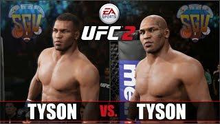 EA UFC 2 (Xbox One) - Iron Mike Tyson vs Mike Tyson - Fantasy Fight (3 Rounds)
