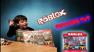 ROBLOX OPERATION TNT OPENING UNBOXING NEW TOY REVIEW