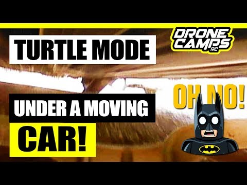 TURTLE MODE under a MOVING CAR! - LDARC Tiny R7 75mm Drone - Honest Review