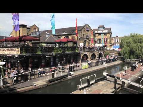 Walkabout in Camden Market, Covent Garden and Neal's Yard