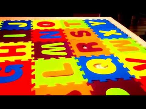 Alphabet Mat Games YOU Can Play With Your Toddler!