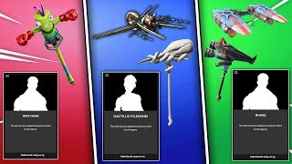 All ENCRYPTED Fortnite Skins STILL To RELEASE! (3 Locked Sets)
