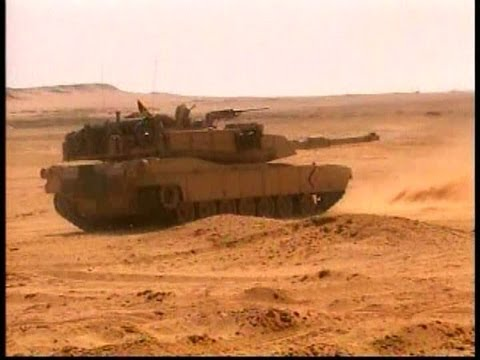 M1A1 Abrams Tanks - Tank Range Training