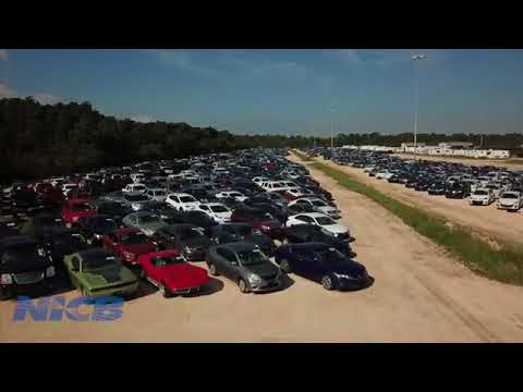Hurricane Harvey Flooded Vehicles