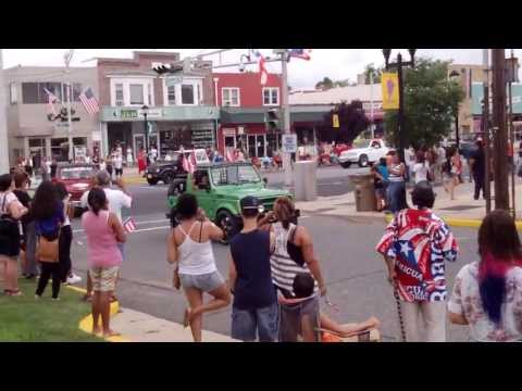 """Puerto Rican Parade in Vineland, NJ 2013 """"Jeeps and more Jeeps"""""""