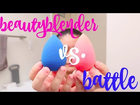 BUY OR BYE: Original Pink VS Sapphire Beauty Blender | Which One Is Better?