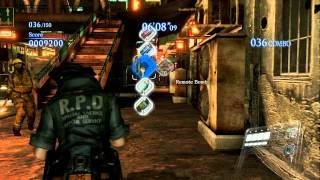 Resident Evil 6 Mercenaries mode - [Helena Harper Costume 1] S Rank gameplay HD