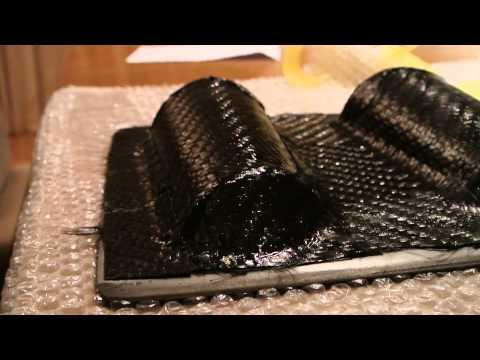 Tutorial: Out Of Autoclave PREPREG Carbon Fiber/Fibre Part 4-7 (Making prepreg moulds)