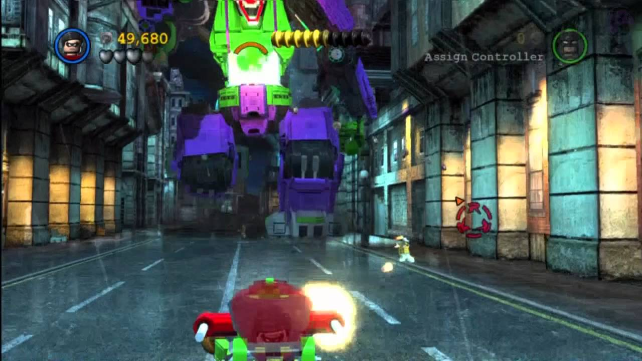 LEGO Batman 2: Minikit Locations - Stage 13 Core ...