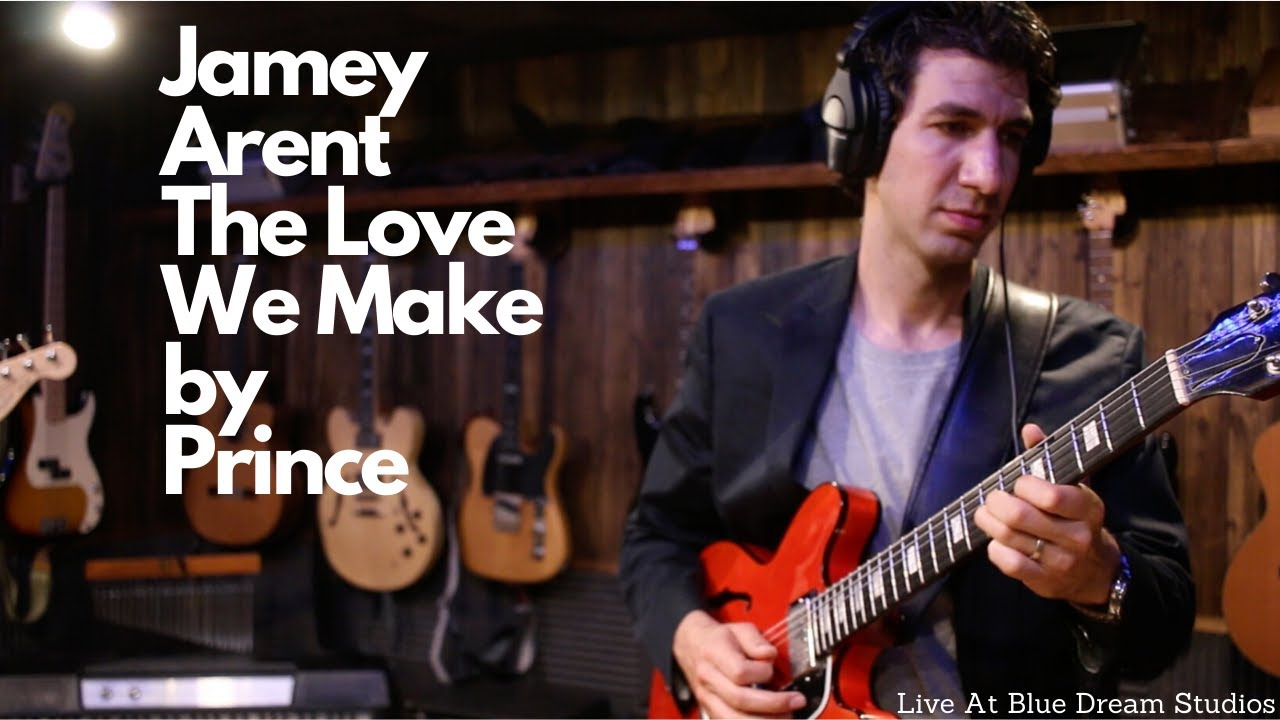 "JAMEY ARENT - ""The Love We Make"" (Prince Cover) Live at Blue Dream Studios"