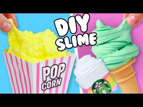 3 EASY DIY INSTAGRAM SLIME! How To Make Slime