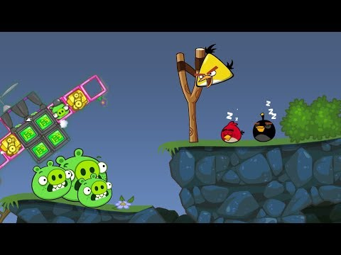 Bad Piggies - ANGRY BIRDS STOP BAD PIGS FROM STEALING GOLDEN EGG!