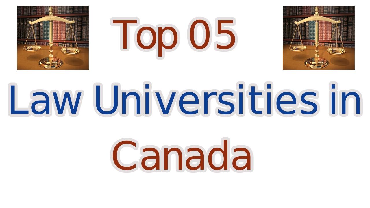 Canadian Law Schools - Top Law Schools