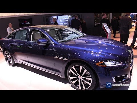 2019 Jaguar XJ 50 - Exterior and Interior Walkaround - 2018 LA Auto Show