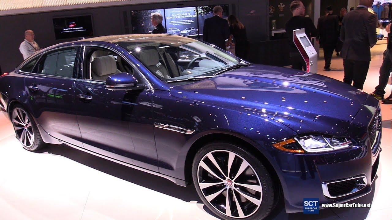 2019 Jaguar Xj 50 Exterior And Interior Walkaround 2018 La Auto Show