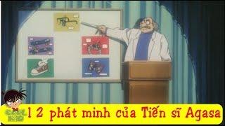 Tiến sĩ Agasa đã phát minh ra những vật dụng nào cho Nan? | Dr. Agasa invented the tools for Conan?
