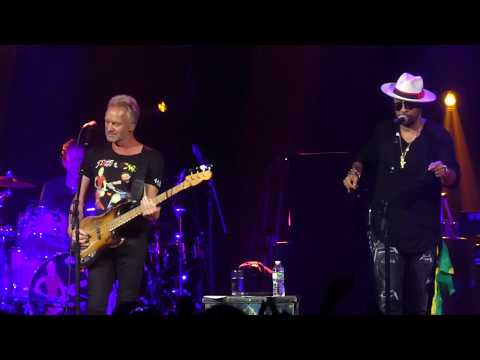 """Waiting for the Break of Day"" Sting & Shaggy@Fillmore Philadelphia 9/20/18"