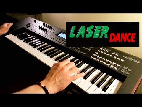 LASERDANCE - Cosmo Tron - Live Remix on Yamaha moXF6 - Piotr Zylbert - Poland (HD)