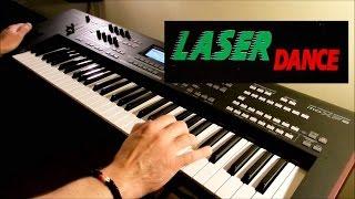 LASERDANCE Cosmo Tron Live Remix On Yamaha MoXF6 Piotr Zylbert Poland HD