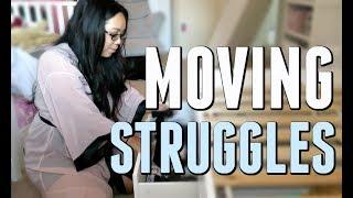 MOVING STRUGGLES! - August 01, 2017 -  ItsJudysLife Vlogs