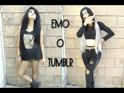 ❤ De niña EMO a niña ¿TUMBLR? XD ❤ - Saliendo de mi zona de confort :D - Natii Lovato Quiinn