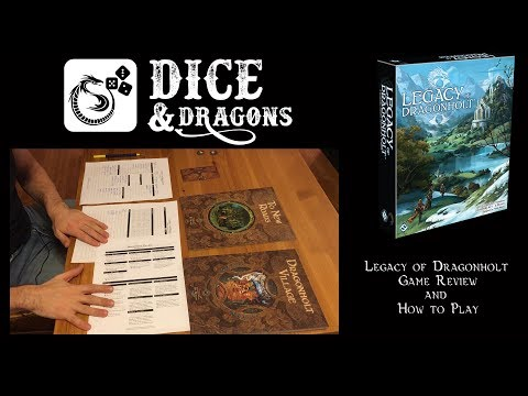 Dice and Dragons – Legacy of Dragonholt Review and How to Play